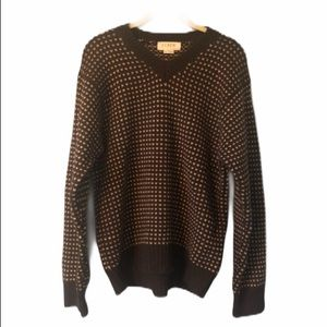 J Crew Vintage Lambswool Stitched Sweater
